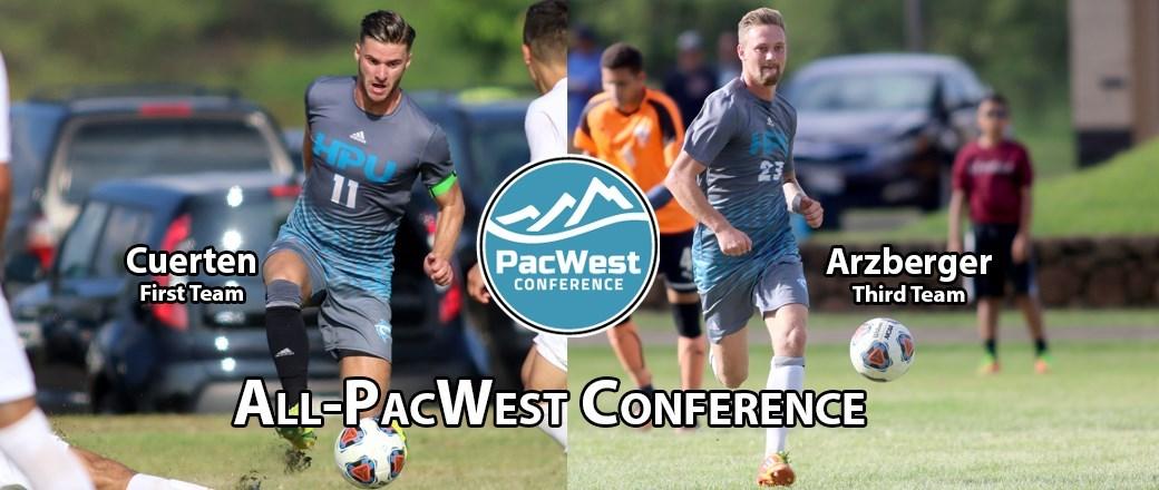 <div>Cuerten, Arzberger Chosen To Men's All-PacWest Team</div>