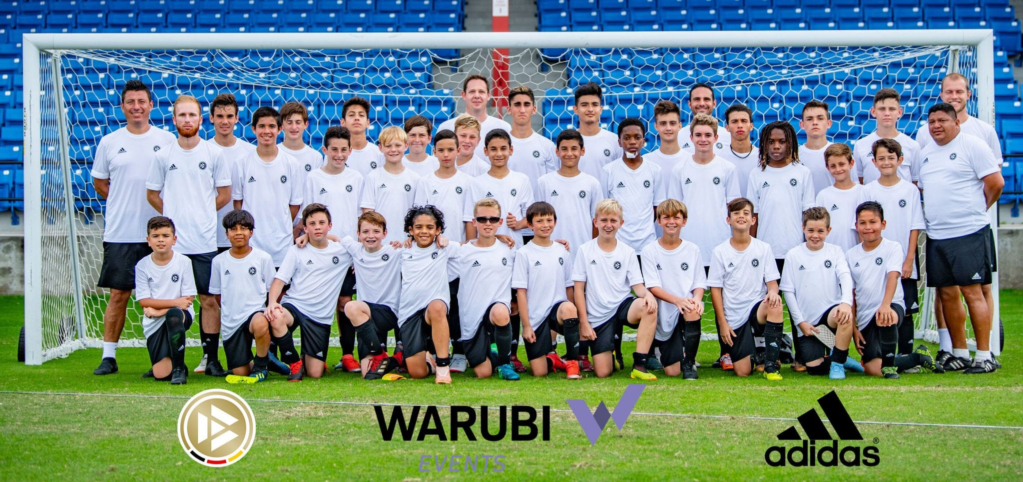 DFB-Akademie Elite Youth Soccer Camp Team Picture