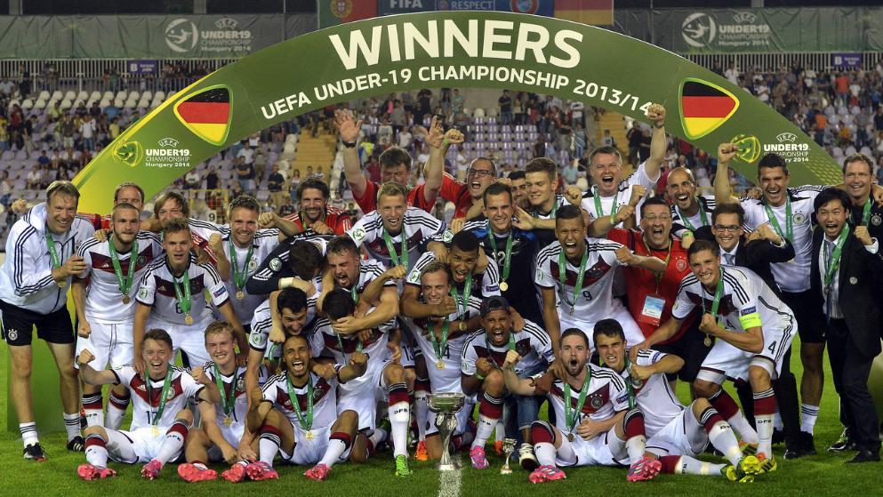 UEFA U-19 European Champions 2014 Germany