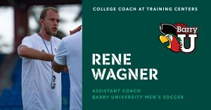 College Coach at Training Centers